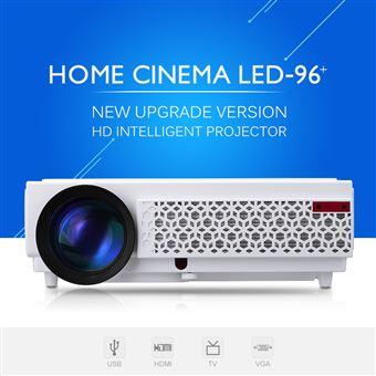 Proyector LED Excelvan 96 + Nativo 1280 x 800 1080p