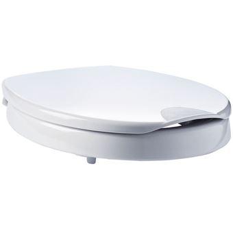 Asiento de inodoro Ridder, de cierre suave Premium Blanco A0070700