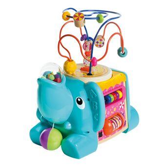 Elefante de madera con actividades 5 en 1 WOOMAX