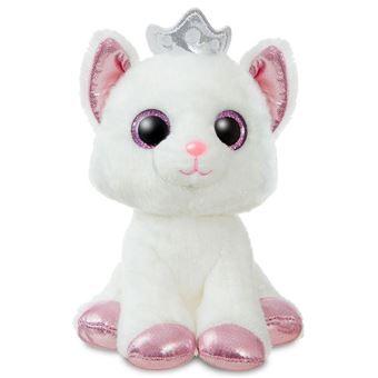 Peluche Gato Blanco Soft 18cm