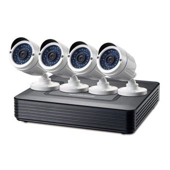 Kit Videovigilancia Level One Cctv 8C 4Camaras