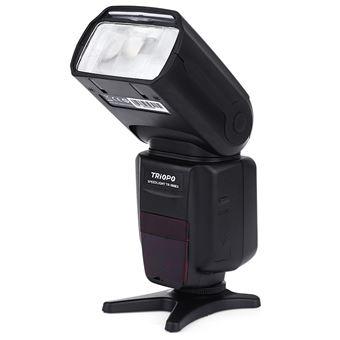 Flash de la cámara Speedlite Triopo TR - 586EX N esclavo maestro TTL inalámbrico para Nikon Canon