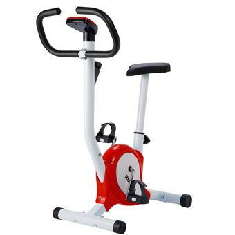 Bicicleta estática Kuokel YS-F01 Equipo de Cardio aerobic Adjustable resistance Rojo