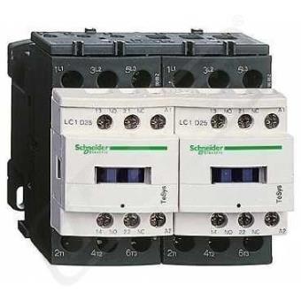 Contactor Schneider, 12A 1NA/1NC 24v 50/60hz ref. lc1d12b7