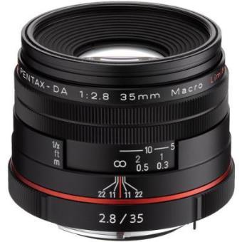 Lente para cámara Pentax HD-DA 35mm F2.8 Macro Limited