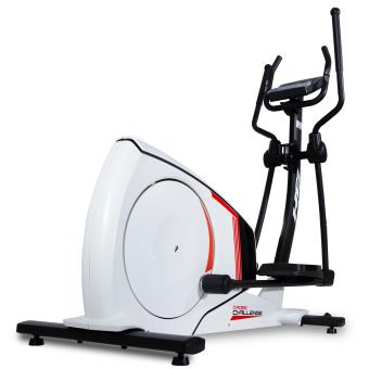 Bicicleta elíptica BH Cross Challenge Fitness Apps. 14 Kg sistema inercial. Blanca. G2381RF