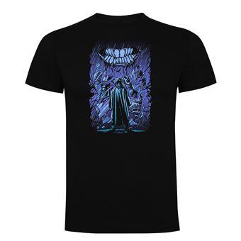 Camiseta manga corta Friking, Modelo 680 Crystal, Talla L, Negro