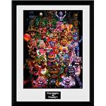 Fotografía Enmarcada Five Nights At Freddy's Ultimate Group
