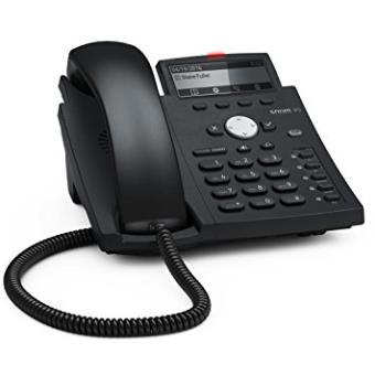 Teléfono ip / Voip Snom D315 Terminal con Conexión por Cable Negro, Azul