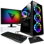 "Gaming PC Vibox - A8-9600, Radeon R7, 16 Gb DDR4 RAM, 1TB HDD, 22"", Windows 10 Pro"