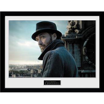 Fotografía enmarcada Animales Fantásticos: Los crímenes de Grindelwald Albus Dumbledore 30x40 cm