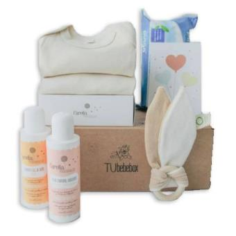 Canastilla ecológica para bebés, Tu Bebebox - Unisex