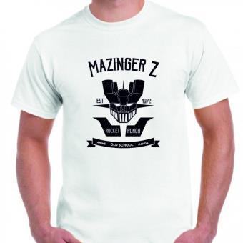 Camiseta DrMugCollection  Mazinger Z Old School, Talla L