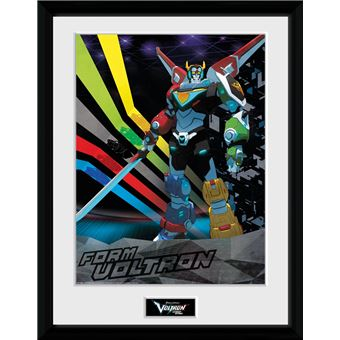 Fotografía Enmarcada Voltron Form Voltron