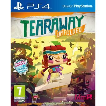 Tearaway Unfolded (playstation 4) [importación Inglesa]
