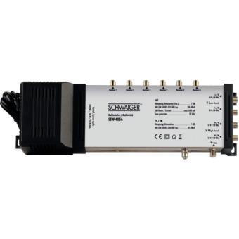 Schwaiger sat Multi Switch Conmutador Múltiple 5 a 6 Para Satélite