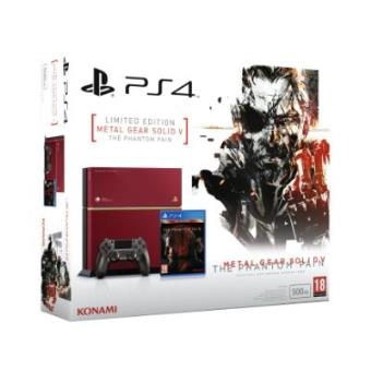 PlayStation 4 500 GB + Metal Gear Solid V: The Phantom Pain Limited Edition