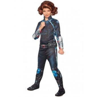 Disfraz Viuda Negra Vengadores: La Era de Ultrón deluxe para niña Original - Talla - 5-7 años