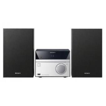 Sony CMT-SBT20 12W Negro, Plata