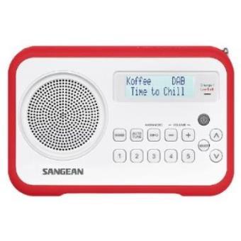 Sangean DPR-67 - Radio, rojo