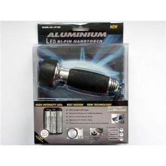LED Linterna de Alu con tres LED blancas