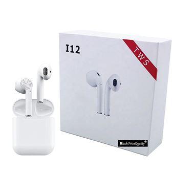 Auriculares Bluetooth 5.0 I12 Klack Universal - Blanco