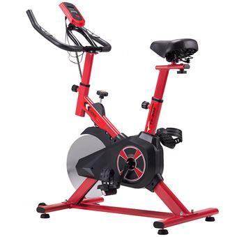 Bicicleta de Spinning Kuokel YS-S02  bicicleta digital de 10kg, Rojo
