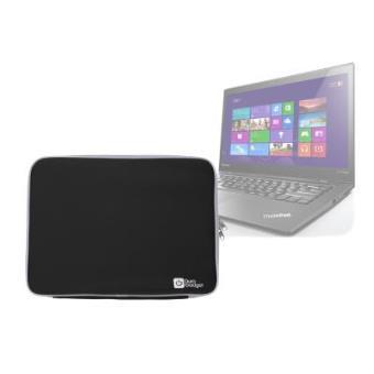 Funda Protectora Negra Para Lenovo ThinkPad X1 Carbon HD+ / WQHD Touch / WQHD - Neopreno De Alta Calidad Por DURAGADGET
