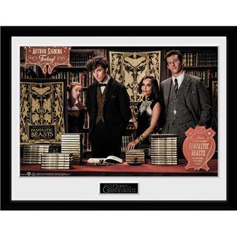 Fotografía enmarcada Animales Fantásticos: Los crímenes de Grindelwald Book Signing 30x40 cm