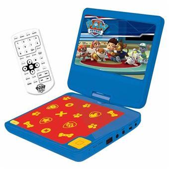 LEXIBOOK - PAT PATROILLE - Reproductor de DVD portátil para niños con puerto USB