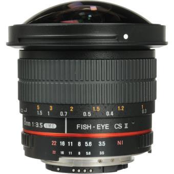 Samyang 8 mm f / 3.5 UMC Lente ojo de pez CS II para Sony E Mount