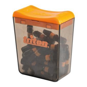 Triton 695211 - Puntas Pozidriv para atornillador de impacto, 25 pzas