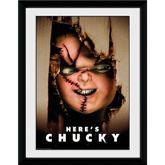 Fotografía Enmarcada Chucky Here's Chucky