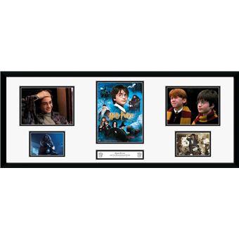 Fotografía enmarcada Harry Potter Piedra filosofal 30x75 cm