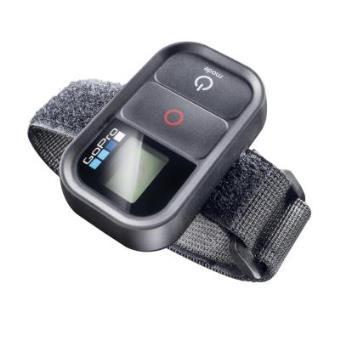 Mantona Arm Mounting - Correa de mano para mando a distancia GoPro, negro