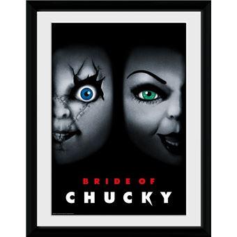 Fotografía Enmarcada Chucky Bride of Chucky