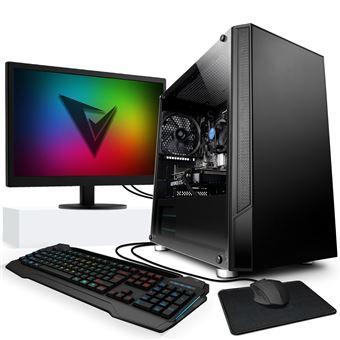 "Gaming PC Vibox - FX 8300, Nvidia GeForce RTX 2060, 16 Gb RAM, 1TB HDD-SSD, 22"" HD Écran, Windows 10"