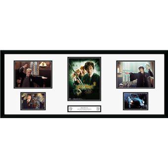 Fotografía enmarcada Harry Potter Cámara secreta 30x75 cm