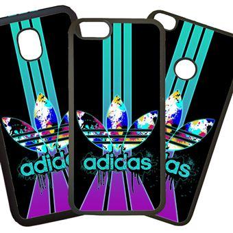 varios colores nuevos productos para comparar el precio Funda para móvil móvil compatible con iphone 8 Plus - adidas lila ...