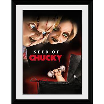 Fotografía Enmarcada Chucky Seed of Chucky