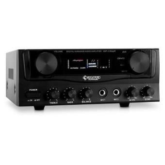 Amplificador PA Auna Hifi karaoke. 400 W