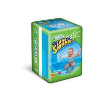 Pañales Little Swimmers Talla 3/4 (7 a 15 kg) - Paquete de 12 pañales