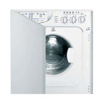 Lavadora secadora Indesit I WDE 127