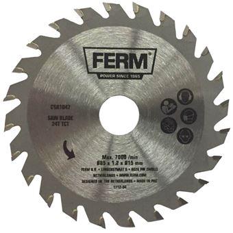 Hoja de Sierra Ferm, de precisión 24T TCT 85 mm CSA1047