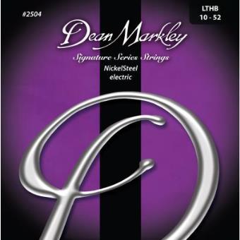 Dean Markley 2504B Juego de cuerdas para guitarra el/éctrica de acero de n/íquel.010-.052