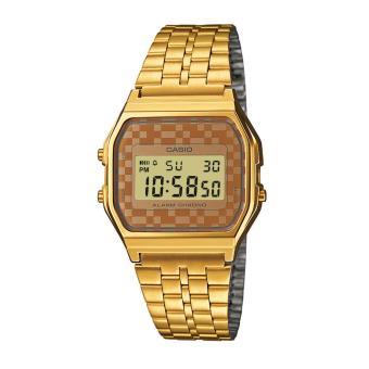 Casio A159WGEA-9AEF - Reloj digital de cuarzo para hombre con correa de  acero inoxidable 8f59170f1d17