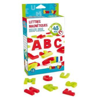 48 letras mayusculas magneticas