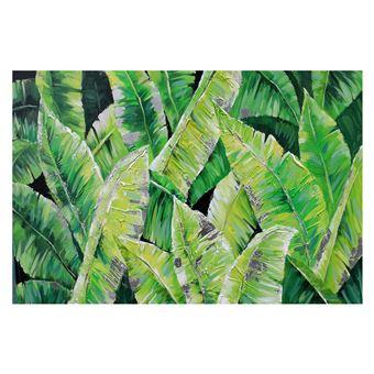 Cuadro abstracto plantas tropicales. Óleo sobre lienzo (120 x 80 cm) - 50291011444390