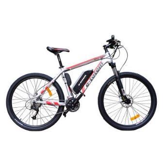 Bicicleta eléctrica de Montaña 27,5'' y 27 velocidades con motor trasero