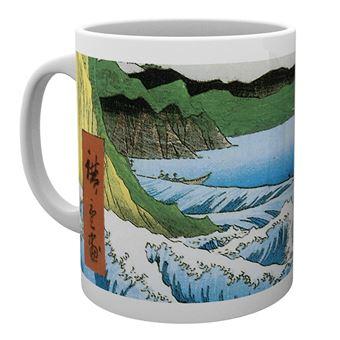 Taza Hiroshige El mar frente a Satta